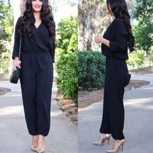 CAbi Limited Edition Casey Jumpsuit in Black